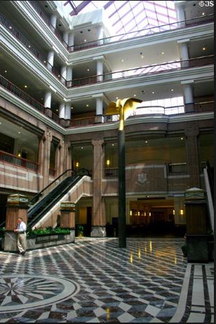 Inside of Legislative Office Building