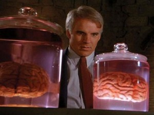 Steve Martin in 'The Man With Two Brains'