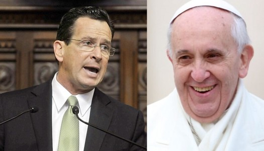 Gov. Malloy, Pope Francis and 40 Days for Life