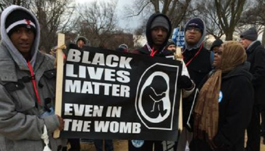 Pro-Lifers and the Black Lives Matter Movement