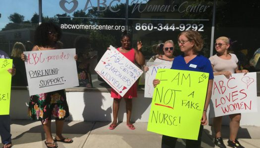 NARAL Protest Flops; ABC Women's Center Shines
