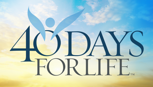 40 Days for Life CT starts Sept 26th – Nov 4th!
