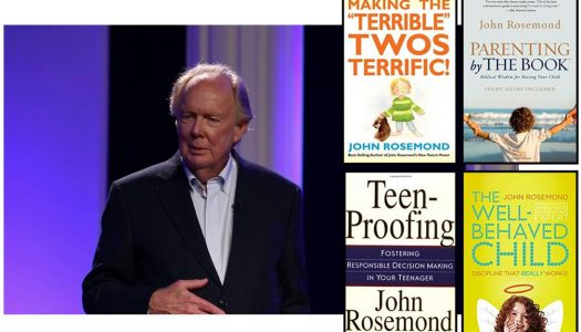 "Christian family psychologist Dr. John Rosemond presents ""Parenting with Love and Leadership"" seminar March 17th in Vernon, CT"