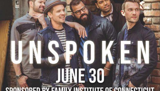 FIC's First-Ever Sponsored Concert- UNSPOKEN on June 30th!